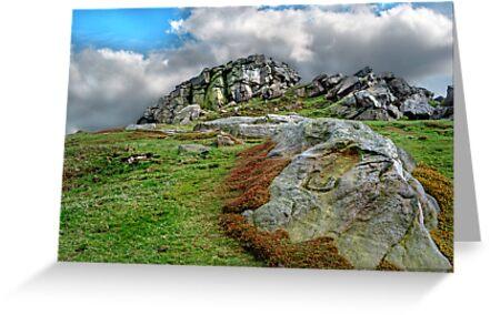 Almscliff Crag #2. by Colin Metcalf