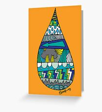 DROP IN! Greeting Card