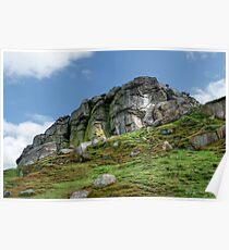 Almscliff Crag #3. Poster