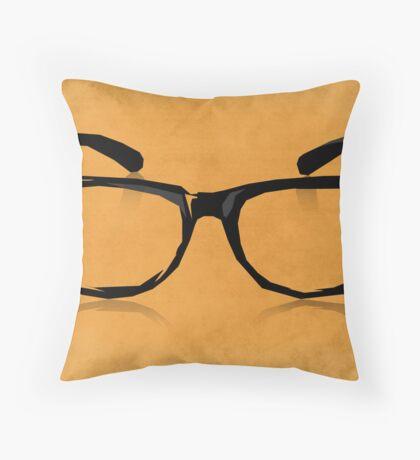Geek Glasses Throw Pillow