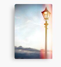 Lomo Lamp post Canvas Print