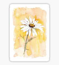 One perfect daisy Sticker
