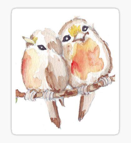 Two Little Birds 2 Sticker