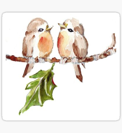 Two Little Birds 1 Sticker