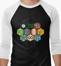 MATH! Men's Baseball ¾ T-Shirt