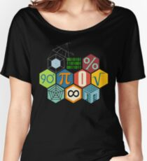 MATH! Women's Relaxed Fit T-Shirt