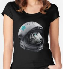 Astro Tiger Women's Fitted Scoop T-Shirt