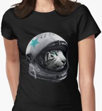 Astro Tiger Women's Fitted T-Shirt