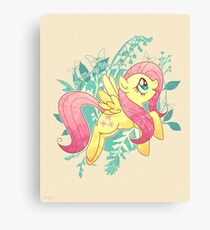 Flutter Nature Canvas Print