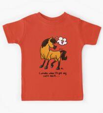Confused Horse Kids Tee