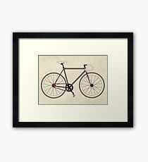 Road Bicycle Framed Print