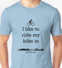 Biking in Amsterdam T-Shirt