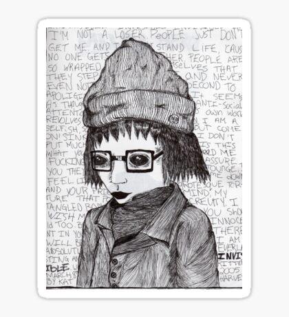 Angsty Sticker