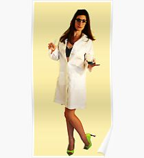 Geeky Pin-Up: Chemistry Poster