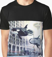 City of whales Graphic T-Shirt