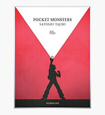 A Monster in your Pocket (Red Version) Photographic Print