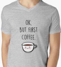 Coffee Men's V-Neck T-Shirt
