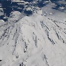 Mt. Rainier Fly Over by Tori Snow
