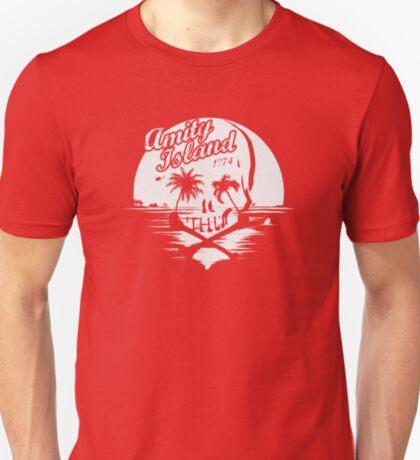 Jaws / Amity Island skull T-Shirt