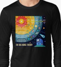 Big Bang Theory Universe Space Long Sleeve T-Shirt