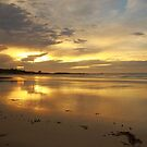 autumn skies, sunrise. eastcoast, tasmania by tim buckley | bodhiimages