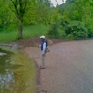 Fly fishing Prospect Park Brooklyn1 by andytechie