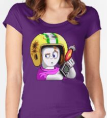 Commander Keen HD - Retro DOS game fan items Women's Fitted Scoop T-Shirt