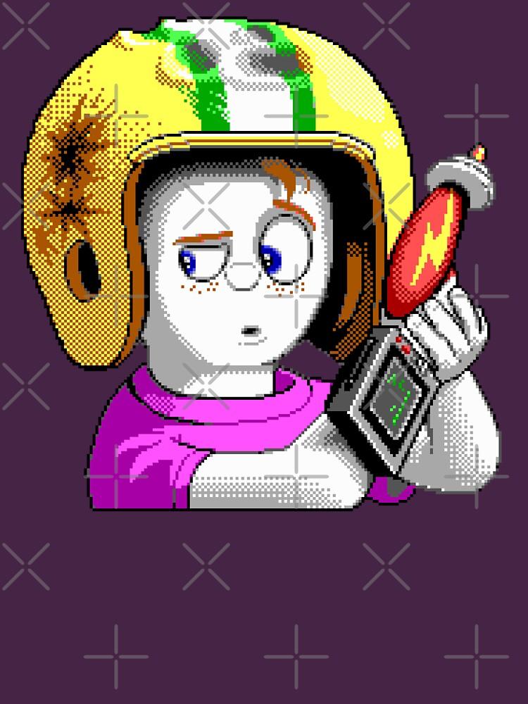 Commander Keen HD - Retro DOS Spiel Fan Artikel von hangman3d