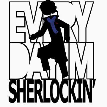 Every day I'm Sherlockin' by recri