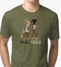Nerd Vs Nerd Tri-blend T-Shirt
