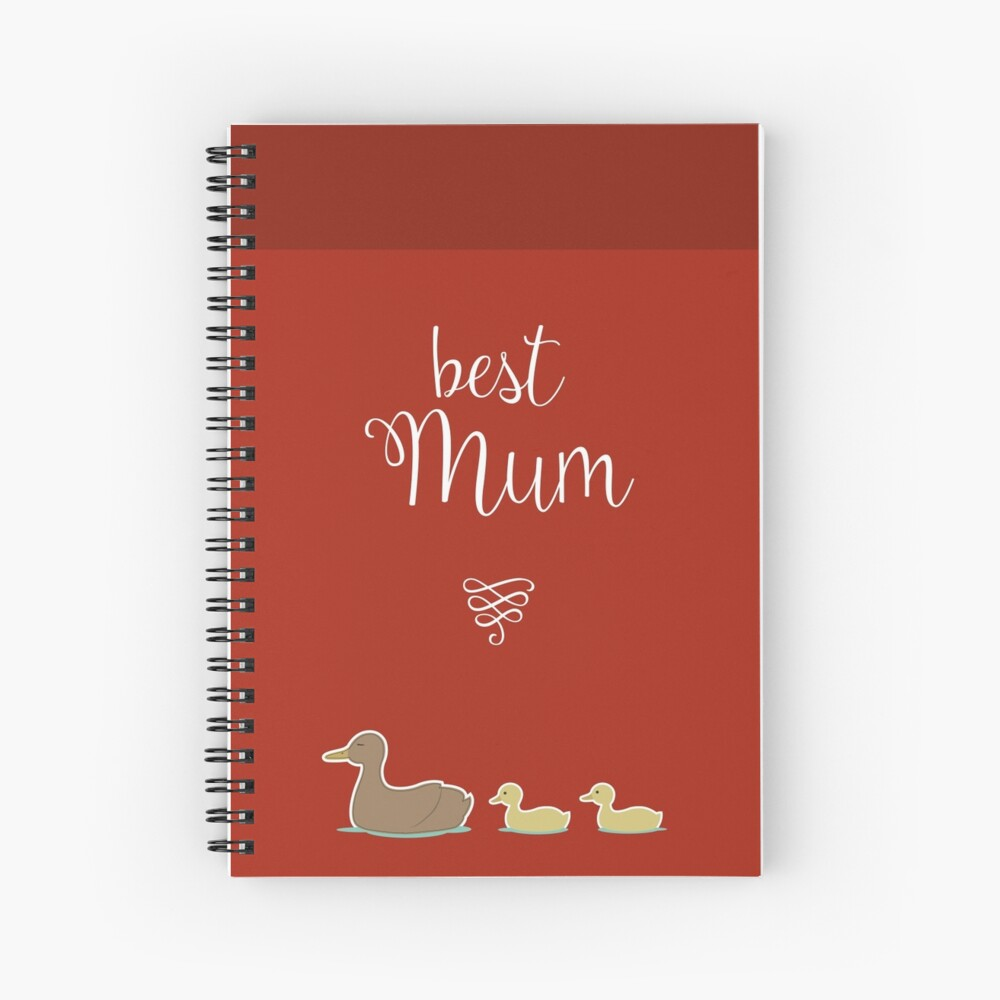 Best Mum Spiral Notebook