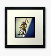 San Judas Framed Print