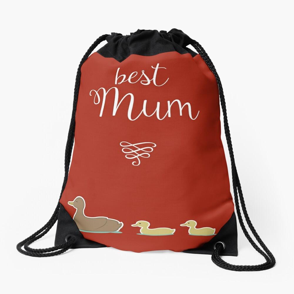 Best Mum Drawstring Bag