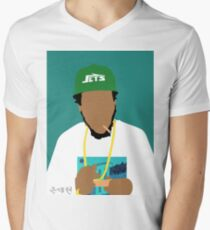 Curren$y Men's V-Neck T-Shirt