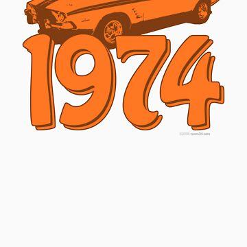 Born in 1974 (orange) by room34
