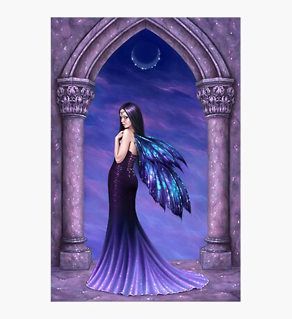 Mystique Galaxy Wing Fairy Photographic Print