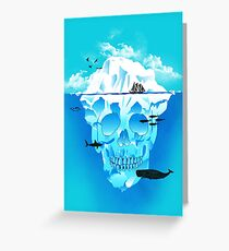 Cold Cruisings and Icy Endings Greeting Card