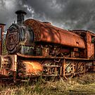HDR Old Steam Train by Great North Views