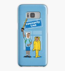 Community Time! Samsung Galaxy Case/Skin