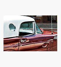 Classic Thunderbird (Mid-50's) Photographic Print