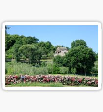 Remote farmhouse, Tuscany, Italy  Sticker