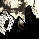 Skyscrapers - New York City by Vivienne Gucwa