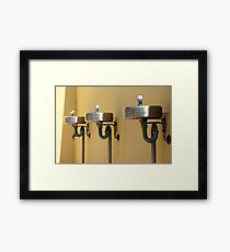 Not-so-red bubblers Framed Print