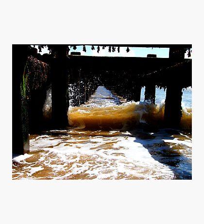 The Translucent Wave Of Wonder! Photographic Print