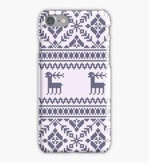 Knit pattern iPhone Case/Skin