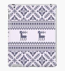 Knit pattern iPad Case/Skin