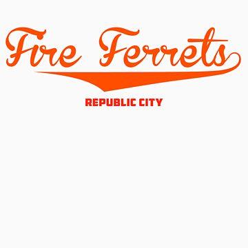 Fire Ferrets by weinerdawg
