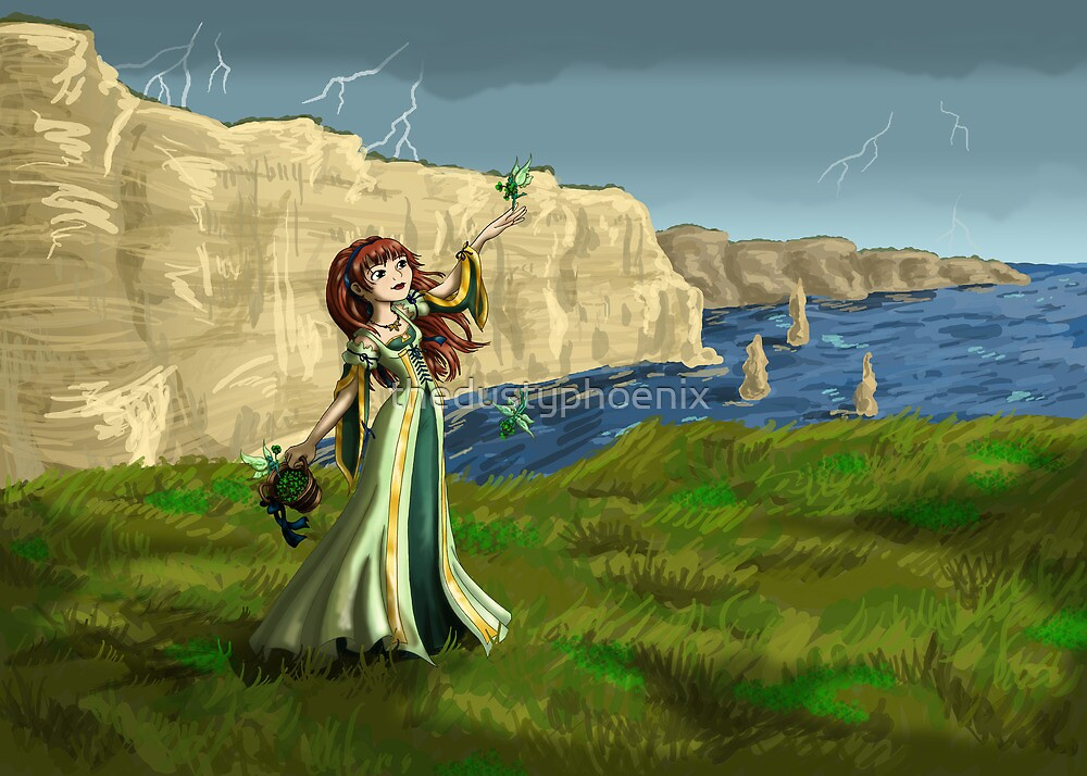 Collecting Shamrocks by thedustyphoenix