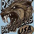 wolf usa warriors by rogers bros by usanewyork