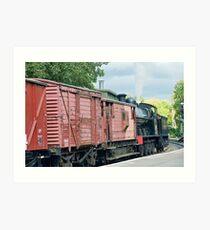 Steam train NYMR Art Print